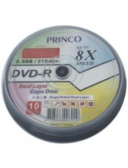 PRINCO DVD-R 8.5GB 8X 10 PICS