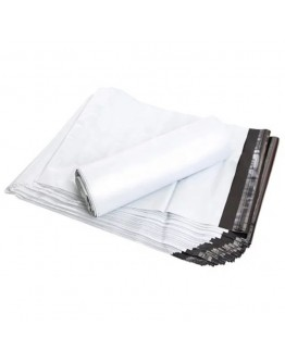 اكياس خاصه للشحن عالية الجودة بلون أبيض, ضد الماء مع صمغ في طرف الكيس للإغلاق