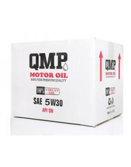 SYNTHETIC OIL| العبوة الذهبية QMP OIL 5W30 كرتون
