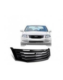 black honda accord mugen grill 2008-2010 أسود مطفي