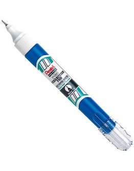 Pentel Fine Point Correction Tip Fluid Pen Blue 7ml - 6620 ""