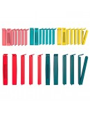 Sealing clip, set of 30, assorted colors mixed colors, mixed sizes assorted sizes