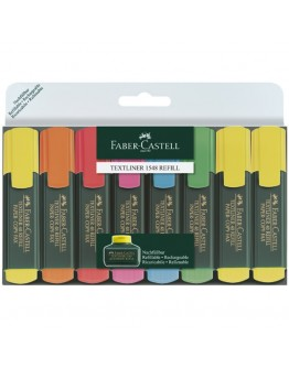 Faber-Castell Textliner 1548 Refill Mult-Color - 8621