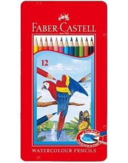 Faber Castell Watercolour Pencils 12 pencils - 9131
