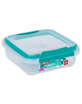 Décor Plastic Food Container 630ml - 1386