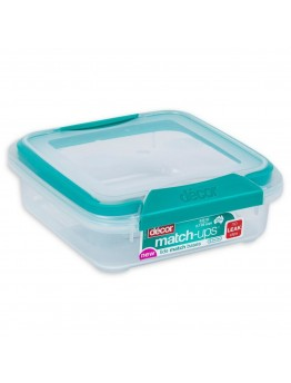 Décor Plastic Food Container 630ml - 1386
