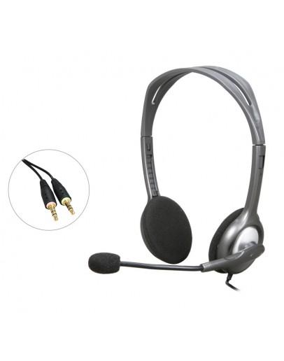Logitech H110 Stereo Headset, Black - 2423