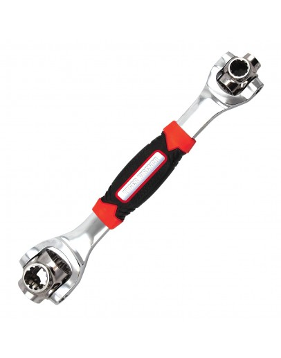 DFUTE 48-in-1 Multifunctional Socket Wrench,Multi-angle Wrench with 6 Corners
