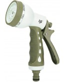 Worth Garden 8 Pattern TPR Alloy Spray Gun#5801
