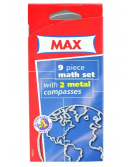 MAX 9PCS MATHS SET - 0647
