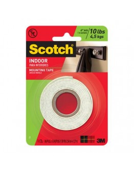 Scotch INDOOR Paper Interioers Mounting Tape - 3393