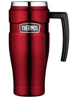 Thermos Stainless King Travel Mug, Red