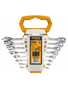 Ingco HKSPA1088 Combination Wrench- Set of 8 Pieces