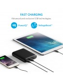 Anker PowerCore 10400 Black, 4X Extra Battery - A1214H11 -24 Months Warranty