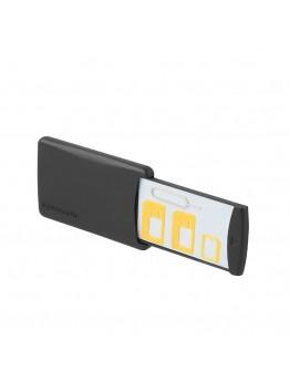 Cellukit 4-In-1 Ultra Slim Sim Card Adapter Kit Black