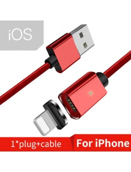 Essager Magnetic IOS Cable 1m Mobile Phone Cable, RED