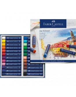 Fiber-Castell 24 Oil Pastels colors  - 0249