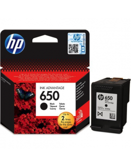 HP 650 Black Inkjet Cartridge - 2435