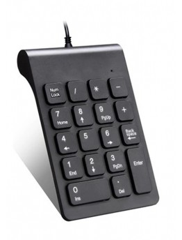Small-size 2.4GHz Numeric Keypad Numpad 18 Keys Digital Keyboard for Accounting Teller Laptop Notebook Tablets