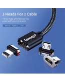 Essager Magnetic Micro USB Cable 1m Mobile Phone Cable
