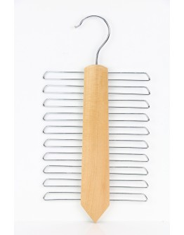 20 Racks Wooden Tie Hanger