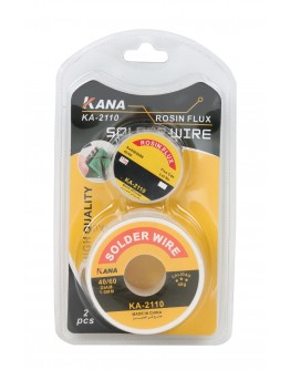 Kana Solder Wire KA-2110 With Rosin Flux - 1106