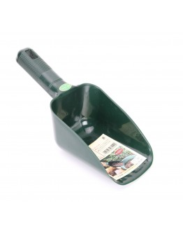 Plastic Compost Scoop, Green