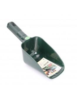Plastic Compost Scoop, Green