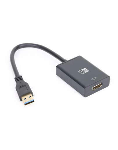 HZ USB to HDMI Adapter, Video & Audio Monitor Adapter Converter MODEL: ZT23 - 0236