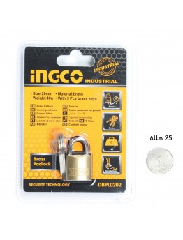 Ingco industrial Brass Padlock