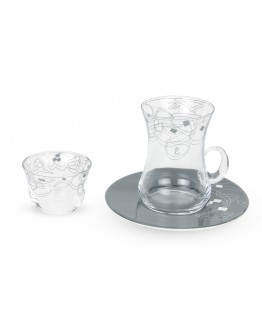 La Mesa 18 PCS Arabic Tea & Coffee set - 2022