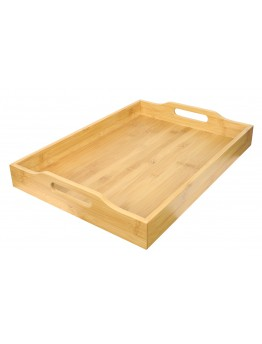 Wooden Bamboo Tray, light brown Size, 47x34x7cm MODEL: G19-X115
