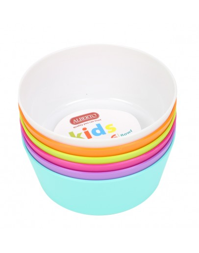 Alberto Kids 6 Bowl 375ml BPA free