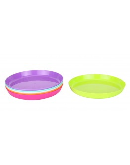 Alberto 6 Multi-Color Kids Plates -