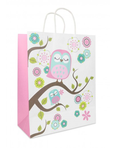 Divina LARGE Owl bag 26x12x32cm