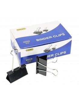 """Bremo Binder Clips 1 DOZ Size 2"""" (51mm) MODEL: DC-51"""