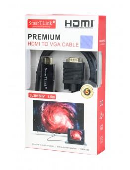 Smart TLink HDMI Premium HDMI TO VGE CABLE 1.5m - 0164