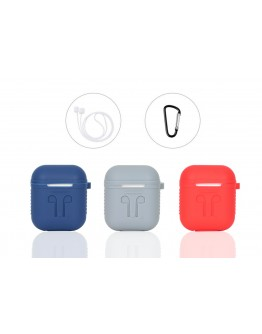 AirPods Protective Case, 3 in 1 Silicone Headphones Accessories Cover Skin Dustproof )