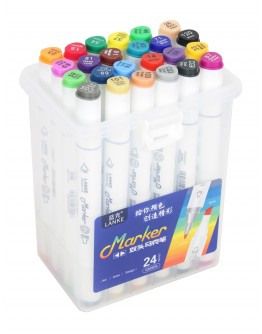 24 Color Marker Pen Multi-Color KL-90924