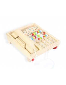 Multi-functional telephone set to teach your child Math