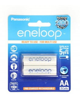 Panasonic eneloop ready to use for multi use AA / 1900 mAh 2 cells