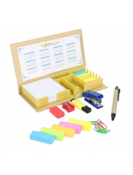 Office Supplies Set With a Calculator