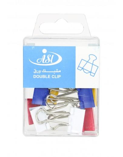 Asl Double Clip 19mm No.75564
