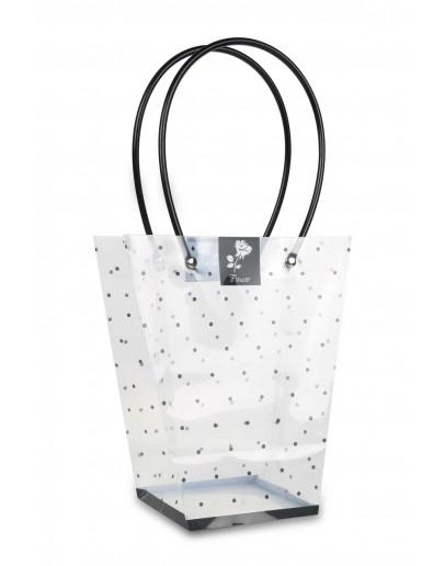 Divina Clear bag 10x17x20cm