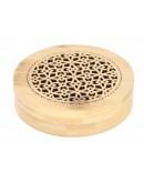 مبخرة خشبية مصنوعة من الخيرزان مع صوف مقاومة للنار
