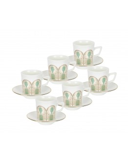 Turkish Coffee Cup Sets 12-PCS