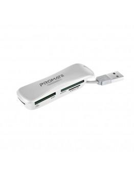Promate MiniReader-1 (4 in 1) Multi Memory Card Reader