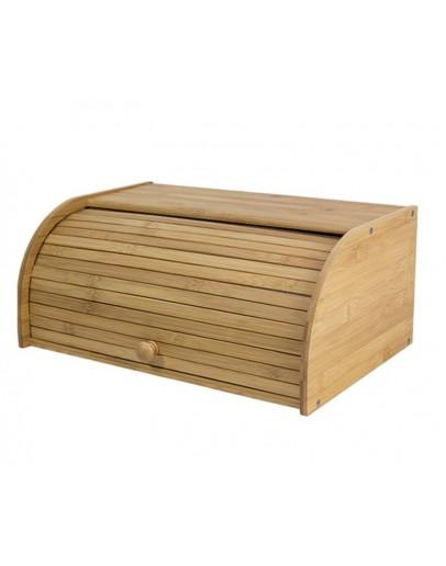 Bamboo Bread Box Brown 41x18x27 centimeter - 0503