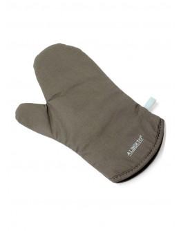 Alberto Heat Resistant Oven Glove Brown/Blue - 8926