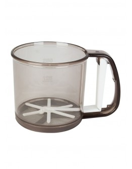Flour Sifter Clear/Brown